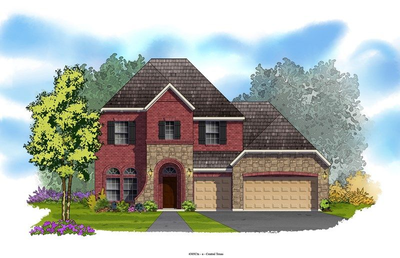 Expedition - Blackhawk - The Park: Pflugerville, TX - David Weekley Homes