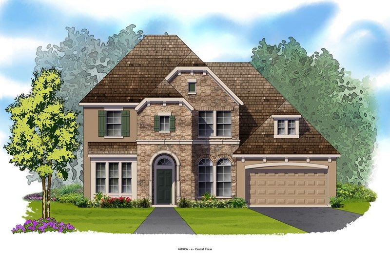 Corrigan - Mayfield Ranch - Parkside: Georgetown, TX - David Weekley Homes