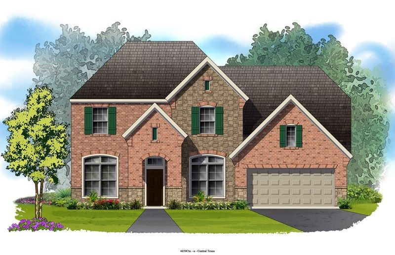 Mayview - Mayfield Ranch - Parkside: Round Rock, TX - David Weekley Homes