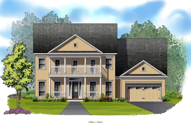 The Woodlands - Liberty Branch 65'/75' by David Weekley Homes