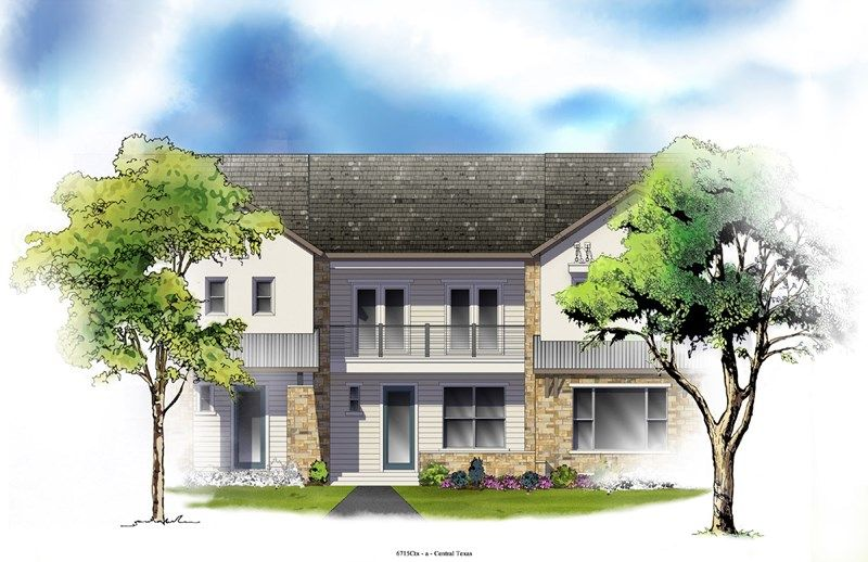 Welsh - Mueller Market Row Homes: Austin, TX - David Weekley Homes