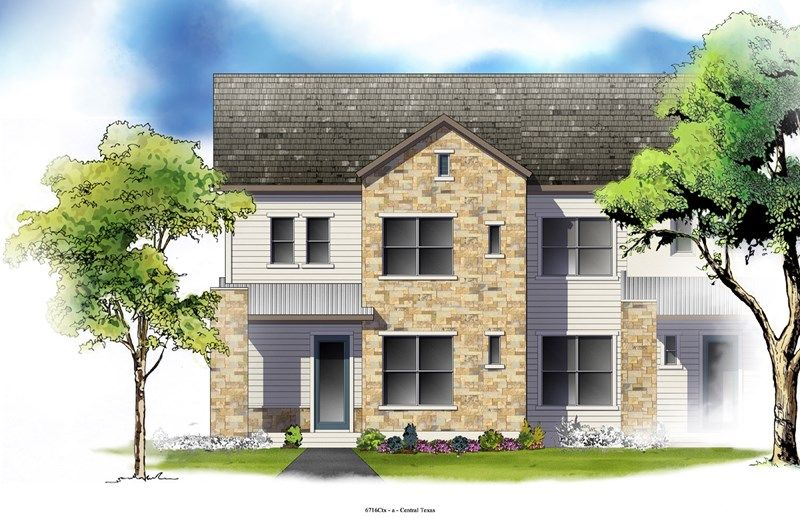 Wyntree - Mueller Market Row Homes: Austin, TX - David Weekley Homes
