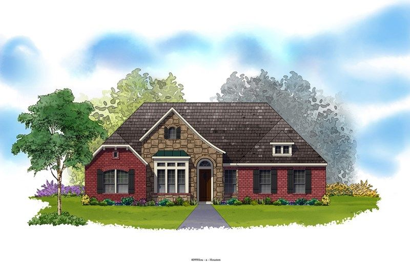 Holcombe - Castlegate II - 75': College Station, TX - David Weekley Homes