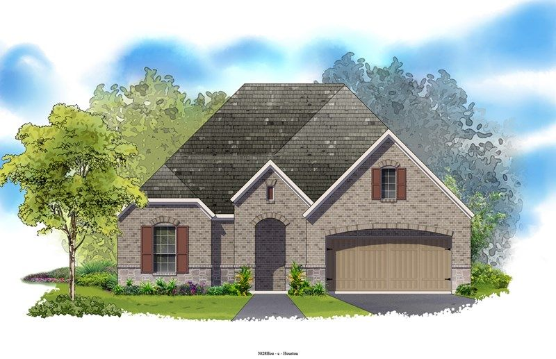 Calida - Ashfield Gardens 55': Katy, TX - David Weekley Homes