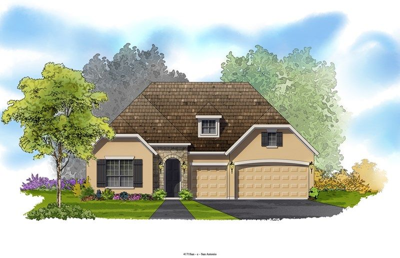 Purdue - Colony at Indian Springs: San Antonio, TX - David Weekley Homes