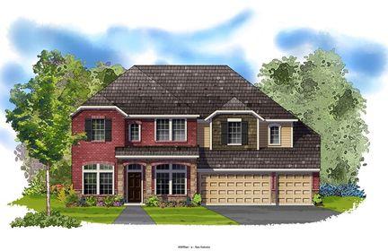 Evanson - Rogers Ranch: San Antonio, Texas - David Weekley Homes