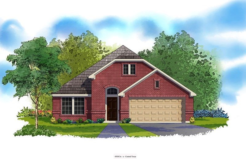 Romero - Northwoods at Avery Ranch: Austin, TX - David Weekley Homes