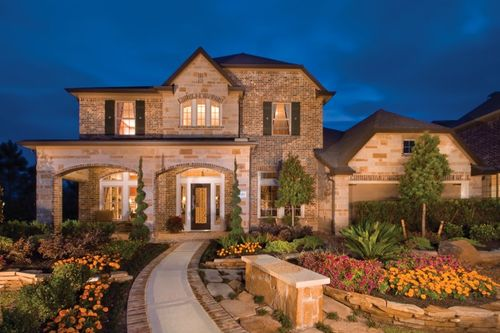 Fall Creek - Fairway Crossing by David Weekley Homes in Houston Texas