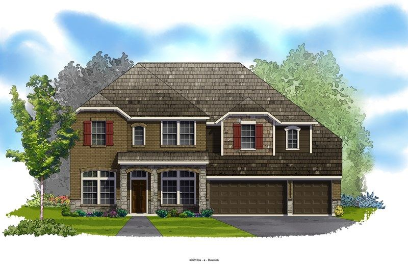 Evanson - Cinco Ranch 65' Homesites: Katy, TX - David Weekley Homes