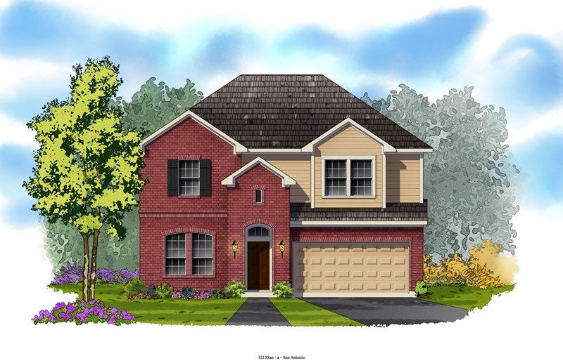 Mobley - Weston Oaks 55'- The Trails: San Antonio, TX - David Weekley Homes