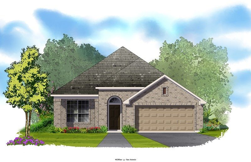 Kepley - The Heights at Two Creeks 50': San Antonio, TX - David Weekley Homes