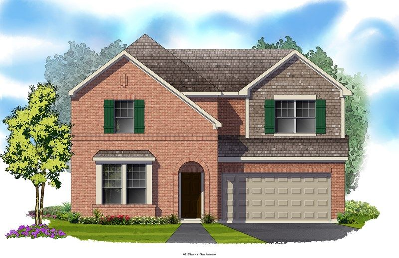 Strickland - The Heights at Two Creeks 50': San Antonio, TX - David Weekley Homes