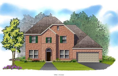 Triana 65' by David Weekley Homes in San Antonio Texas