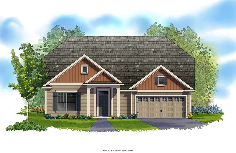 Arborglen - Foxbank Plantation - 65' Homesites: Moncks Corner, SC - David Weekley Homes