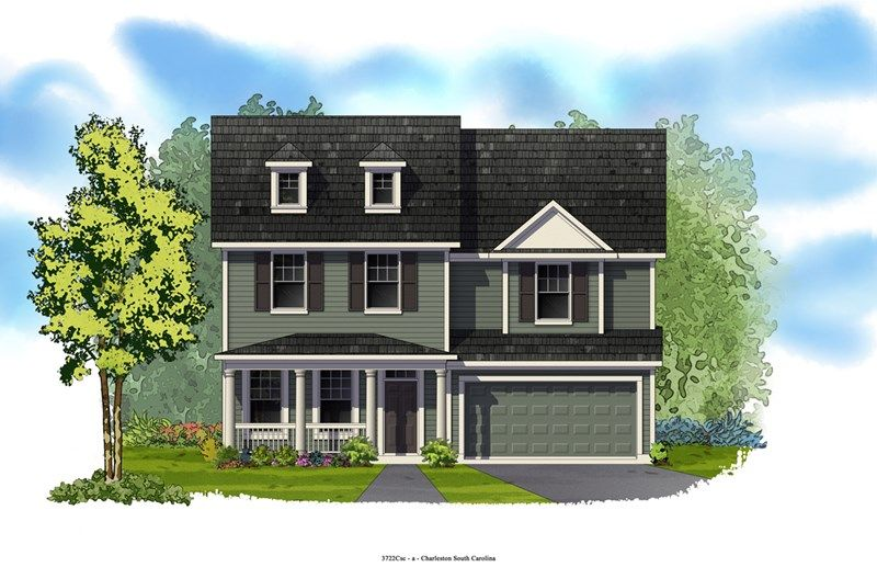 Rhinebeck - Foxbank Plantation - 65' Homesites: Moncks Corner, SC - David Weekley Homes