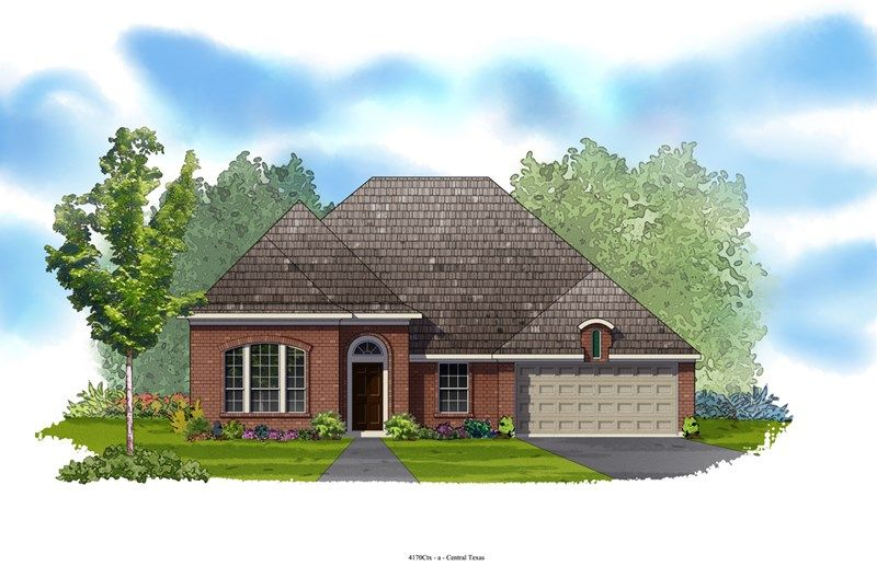 Western - Colony at Indian Springs: San Antonio, TX - David Weekley Homes