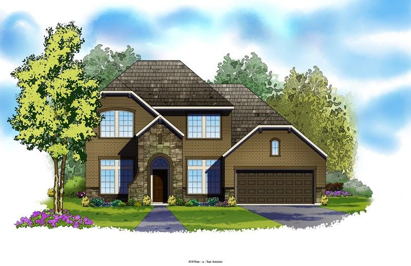 Valleygate - The Preserve at Alamo Ranch 70' Homesites: San Antonio, TX - David Weekley Homes