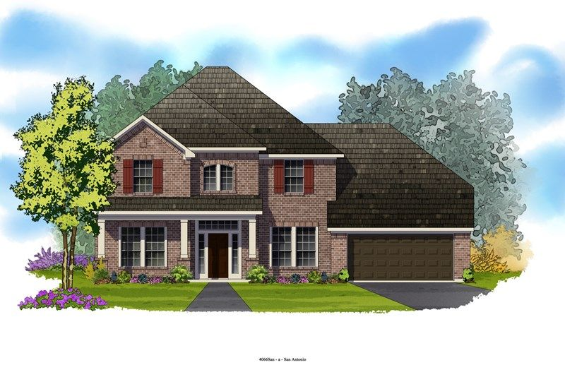 Hubbard - The Preserve at Alamo Ranch 70' Homesites: San Antonio, TX - David Weekley Homes