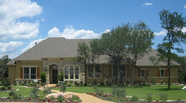 Wharton - Texas Country Estates: New Braunfels, TX - David Weekley Homes
