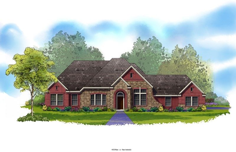 Hilltop - Texas Country Estates: New Braunfels, TX - David Weekley Homes
