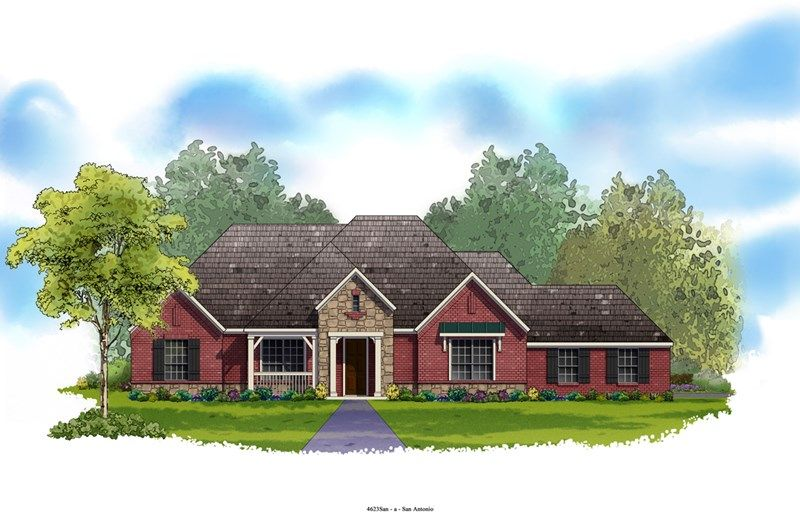 Marconi - Rockwall Ranch: New Braunfels, TX - David Weekley Homes