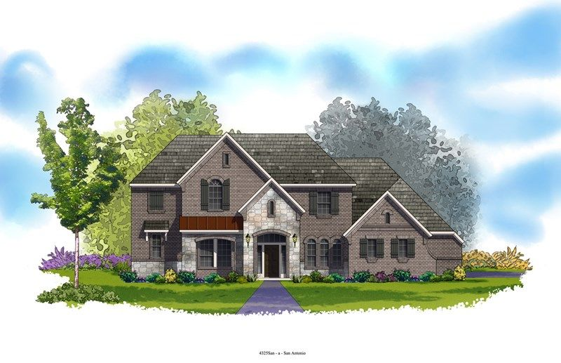 Bandera - Rockwall Ranch: New Braunfels, TX - David Weekley Homes