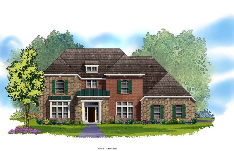 Bluffton - Rockwall Ranch: New Braunfels, TX - David Weekley Homes