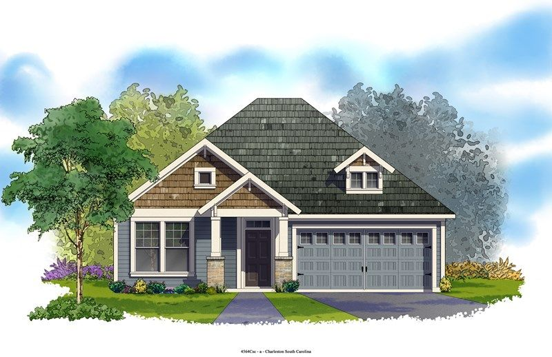 Hillcrest - Foxbank Plantation - 50' Homesites: Moncks Corner, SC - David Weekley Homes