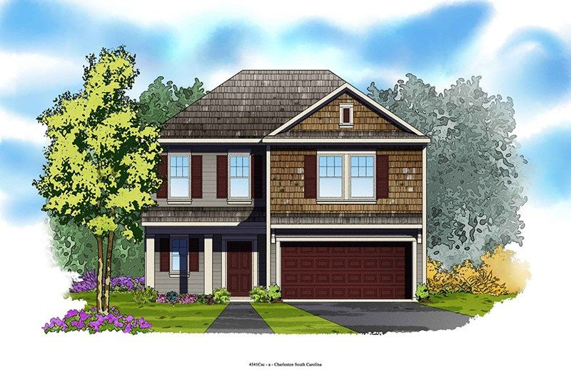 Ivory - Foxbank Plantation - 50' Homesites: Moncks Corner, SC - David Weekley Homes