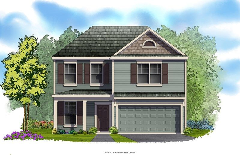 Coffman - Foxbank Plantation - 50' Homesites: Moncks Corner, SC - David Weekley Homes