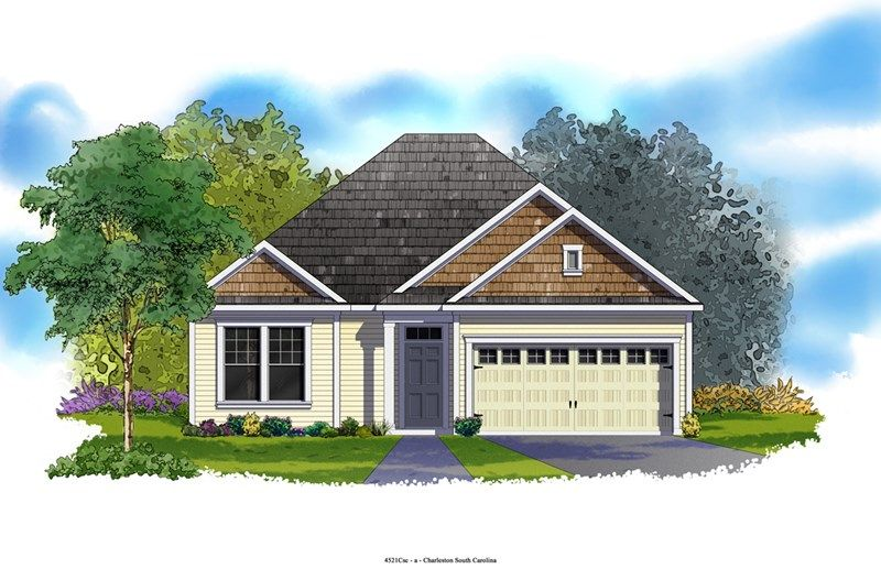 Bodiford - Foxbank Plantation - 50' Homesites: Moncks Corner, SC - David Weekley Homes