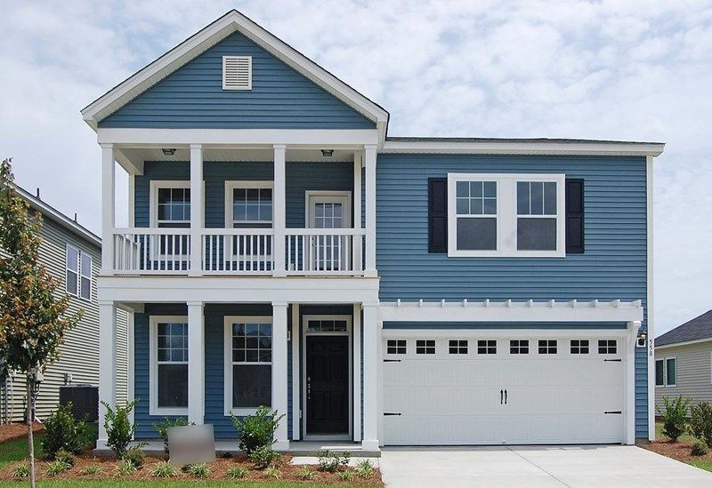 Saxon - Foxbank Plantation - 50' Homesites: Moncks Corner, SC - David Weekley Homes