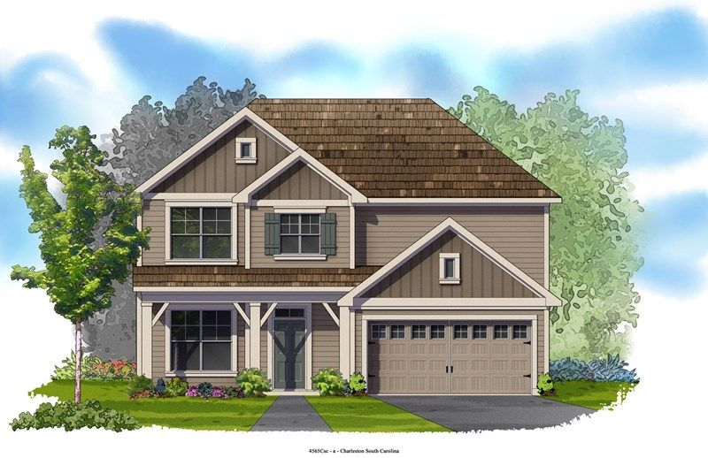Springbrook - Foxbank Plantation - 50' Homesites: Moncks Corner, SC - David Weekley Homes