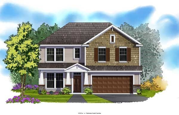Lansberry - Foxbank Plantation - 50' Homesites: Moncks Corner, SC - David Weekley Homes