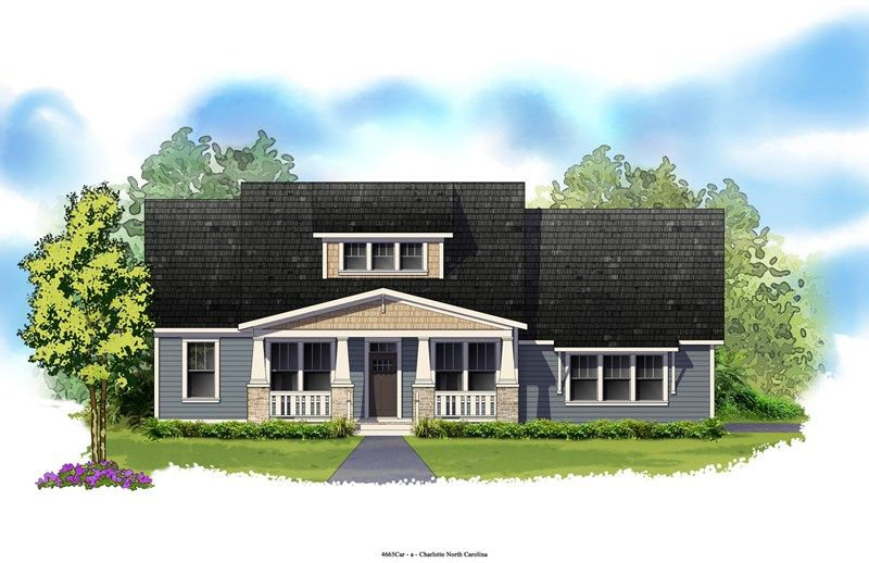 Fenwood - Springfield Manor: Fort Mill, SC - David Weekley Homes