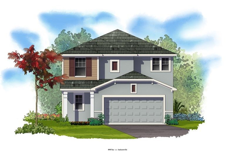 Chariot - Durbin Crossing - Village Center: Saint Johns, FL - David Weekley Homes