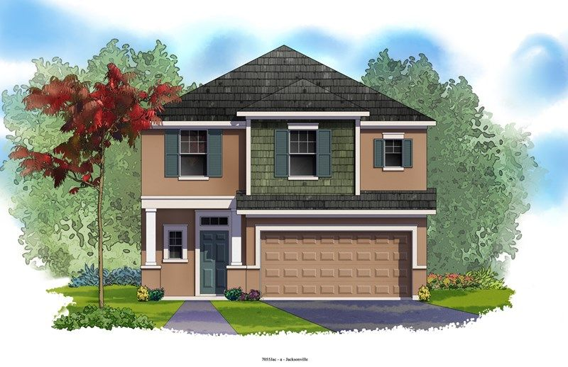 Donshire - Durbin Crossing - Village Center: Saint Johns, FL - David Weekley Homes