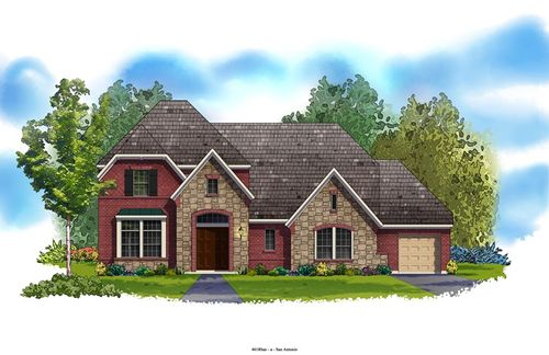 Triana 80' by David Weekley Homes in San Antonio Texas