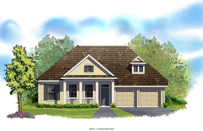 Knightdale - Eagle Park Traditional Collection: Belmont, NC - David Weekley Homes