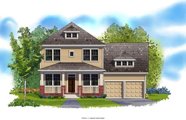 Ridgegate - Eagle Park Traditional Collection: Belmont, NC - David Weekley Homes