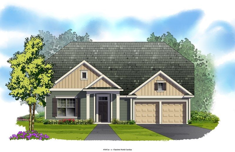 Arborglen - Eagle Park Traditional Collection: Belmont, NC - David Weekley Homes