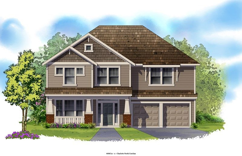 Rumley - Eagle Park Traditional Collection: Belmont, NC - David Weekley Homes
