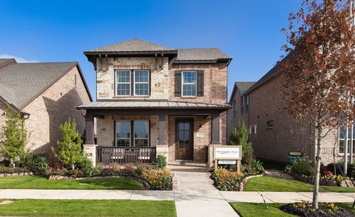 Viridian Cottage by David Weekley Homes in Dallas Texas