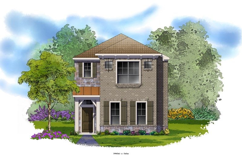 Westling - Villas of Escena: Irving, TX - David Weekley Homes