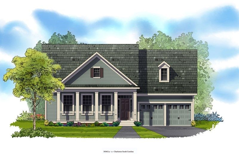 Edgemore - Carnes Crossroads: Goose Creek, SC - David Weekley Homes