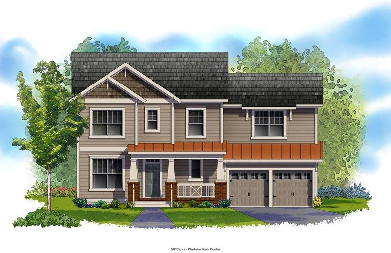 Belington - Carnes Crossroads: Goose Creek, SC - David Weekley Homes