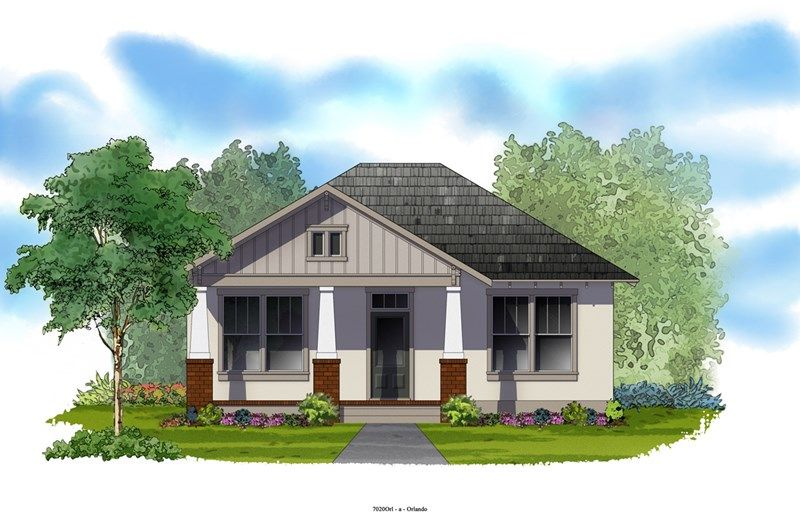Flora - Oakland Park - Cottage Homes: Winter Garden, FL - David Weekley Homes