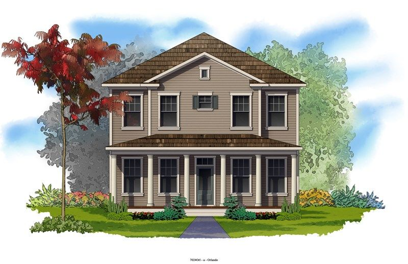 Meadowbank - Oakland Park - Cottage Homes: Winter Garden, FL - David Weekley Homes