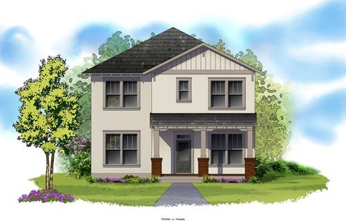 Oakland Park - Cottage Homes by David Weekley Homes in Orlando Florida