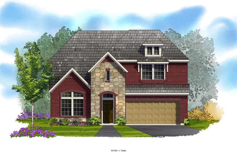 Weidman - Lakes of River Trails: Fort Worth, TX - David Weekley Homes
